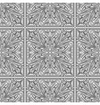 seamless abstract tribal black-white pattern hand vector image vector image
