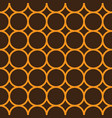 simple repeating texture with circles vector image vector image