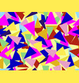 triangles seamless pattern in the style vector image vector image