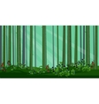 Abstract Pine Forest vector image vector image