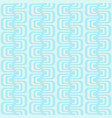 abstract seamless pattern with geometric waves vector image