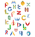 Alphabet letters and icons vector | Price: 1 Credit (USD $1)