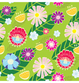 cute seamless wallpaper vector image vector image