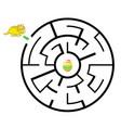dinosaur mazes for kids maze games worksheet for vector image vector image