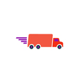 Fast truck Icon vector image
