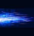 high speed hi-tech technology background vector image