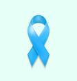november awareness blue ribbon prostate cancer sy vector image vector image