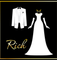 rich people vector image vector image