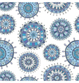 seamless decorative Christmas pattern vector image vector image