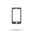 Smartphone icon sign placed on white vector image