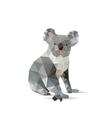 Abstract koalas vector image vector image