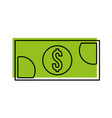 banknote money cash currency payment icon vector image