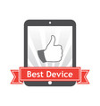 best device vector image vector image