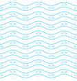Geometric simple minimalistic marine pattern