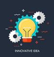 innovation idea concept vector image