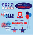presidents day clipart vector image vector image