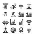 success icon set vector image vector image