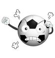 a football vector image vector image