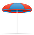 beach umbrella stock vector image