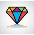 DiamondD vector image