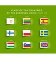 flags eu countries vector image vector image