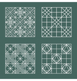 Set of geometric hipster shapes 447 vector image vector image