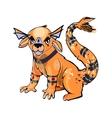 monster design character vector image