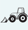 Agricultural machinery Tractor vector image