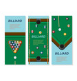 billiard or snoker background good design vector image