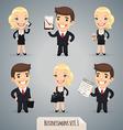 Businessmen set1 1 vector image vector image