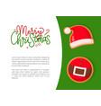 Christmas gingerbread santa hat and belt
