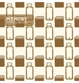 Flash memory seamless pattern vector image vector image