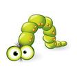 larva character vector image vector image