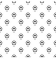 soccer ball pattern seamless vector image vector image