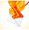 envelope design vector image
