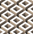abstract boxes 3d seamless pattern vector image