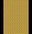 Brushed metal gold flake texture seamless backgrou vector image