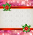 Christmas elegant card vector image vector image
