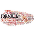 Formula a history to text background word cloud vector image