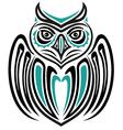 Haida owl vector image vector image