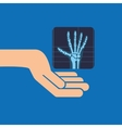 hands x-ray hand medicine icon