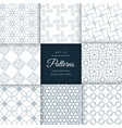 minimal line pattern background collection vector image vector image