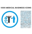 Robbery Rounded Icon With Medical Bonus