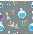 Seamless lab pattern in vector image vector image