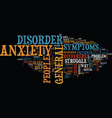the best tips to help spot general anxiety vector image vector image