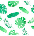 tropic herb watercolor tropical seamless vector image vector image