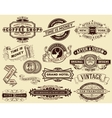15 Labels and banners Elements by layers vector image vector image