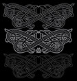 ancient celtic scandinavian mythological symbol vector image