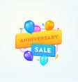 anniversary sale advertising banner