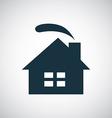 cozy home icon vector image vector image